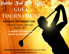Puttin' For The Kids Golf Tournament – Sept 11, 2018
